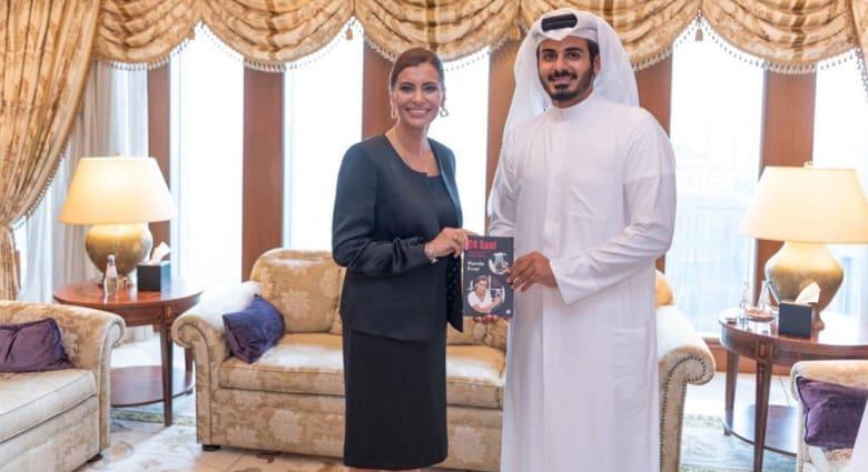 """شقيق أمير قطر مع """"بطلة بإفشال محاولة الانقلاب في تركيا"""".. وهذا ما قاله"""