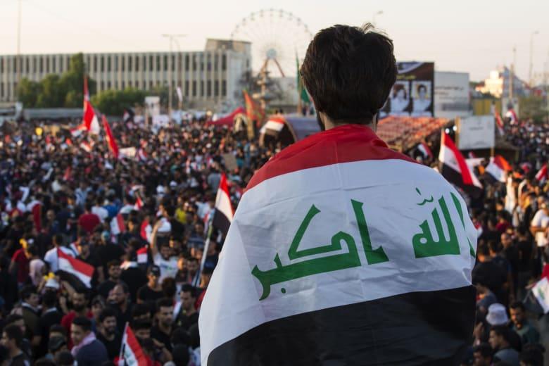 """العراق يطالب """"الجهات الأجنبية"""" بعدم التدخل بالشؤون الداخلية للبلاد"""