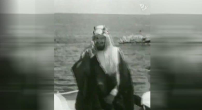 بفيديو نادر للملك المؤسس بالسعودية.. تاريخ أرامكو بـ45 ثانية
