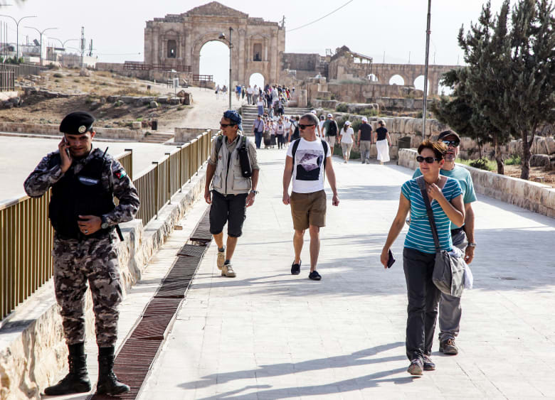 الأردن يعلن إصابة 8 أشخاص بينهم 4 سياح في حادث الطعن بجرش