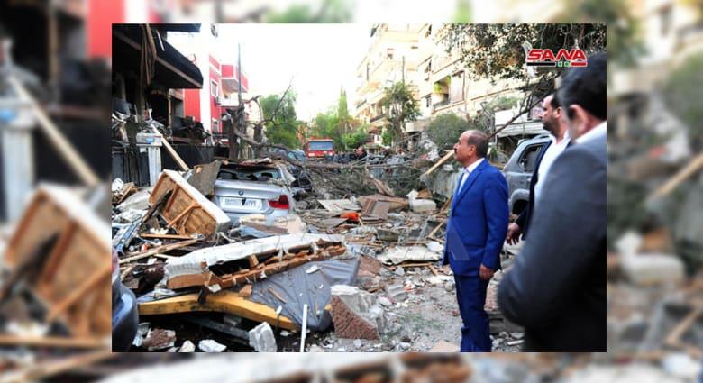 """استهداف قيادي بـ""""الجهاد الإسلامي"""" في قصف إسرائيلي على دمشق"""