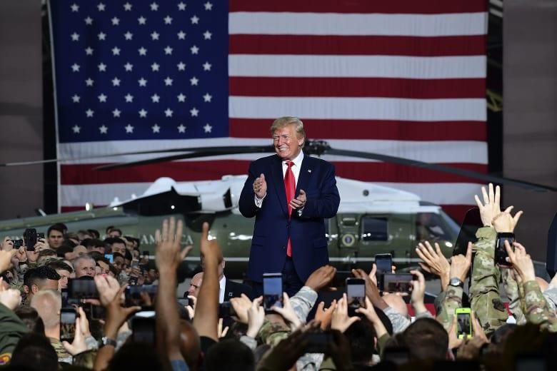 ترامب يلتقي جنودا أمريكيين بكوريا الجنوبية 2019