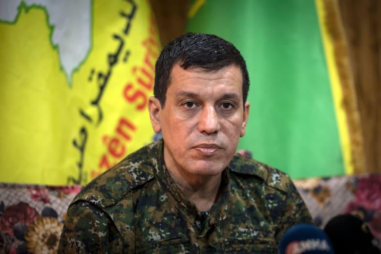 مظلوم القائد العام لقوات سوريا الديمقراطية الكردية