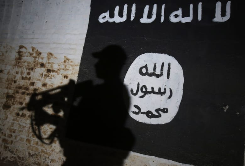 صورة ارشيفية لراية تنظيم داعش في العراق