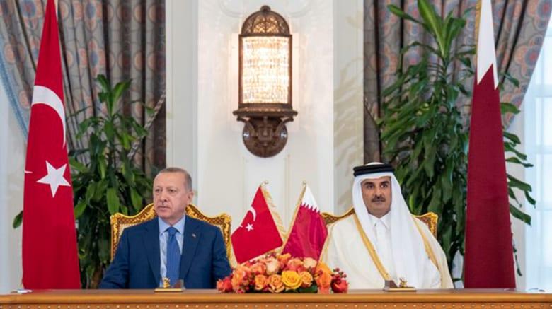 """أردوغان: قطر وقفت معنا في """"لحظات عصيبة"""".. ولا يحق لأحد أن ينزعج من قاعدتنا العسكرية في الدوحة"""