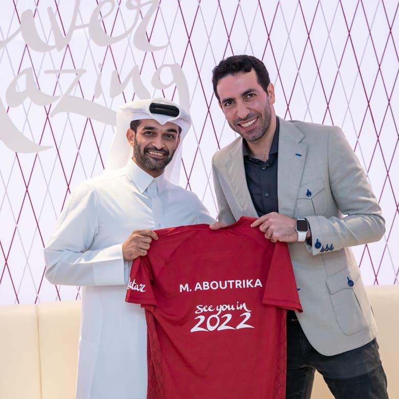 اختيار نجم المنتخب المصري السابق لكرة القدم محمد أبو تريكة سفيرا لمونديال قطر 2022