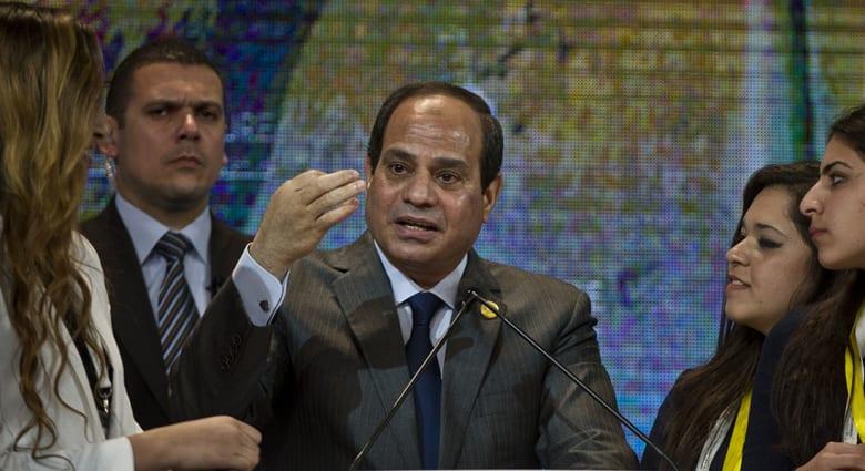 صورة ارشيفية لرئيس مصر عبدالفتاح السيسي