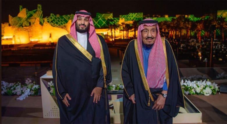 الملك سلمان وولي عهد السعودية محمد بن سلمان