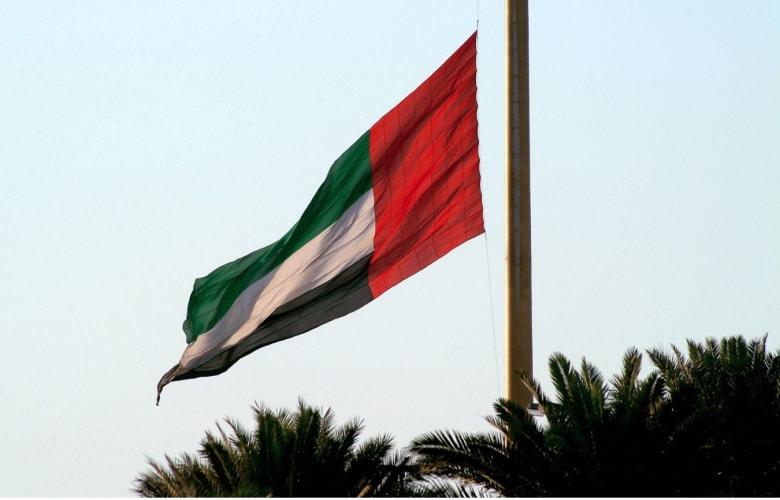 """يحبس الأنفاس..العلم الإماراتي يحلق بـ""""القفز الحر"""" بمناسبة احتفالات اليوم الوطني"""