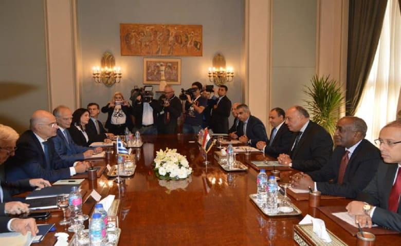 """مصر واليونان: مذكرتا تفاهم تركيا وليبيا """"غير شرعية"""""""