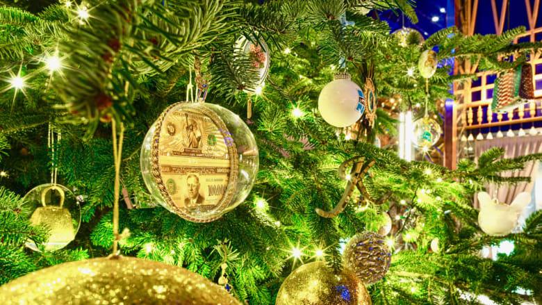 أغلى شجرة عيد ميلاد في العالم