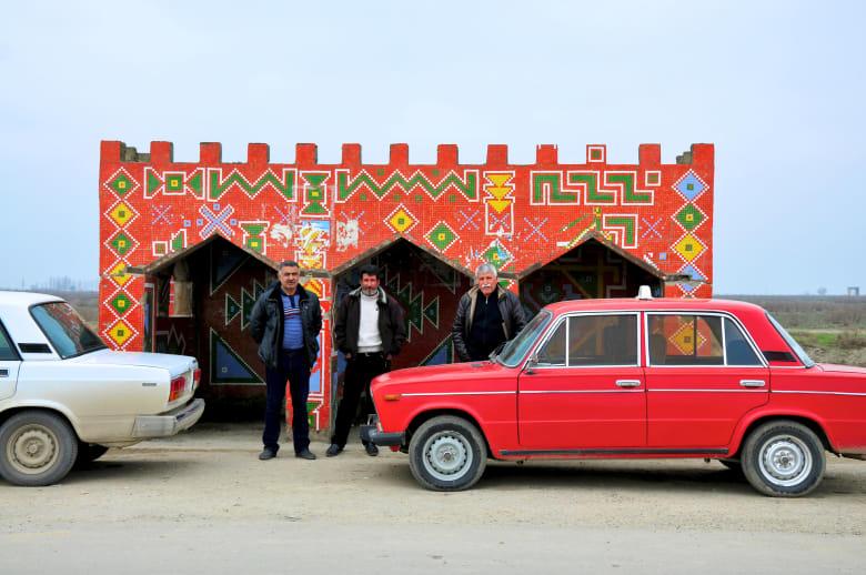 مواقف باصات فريدة تسترجع الحقبة السوفييتية في أذربيجان