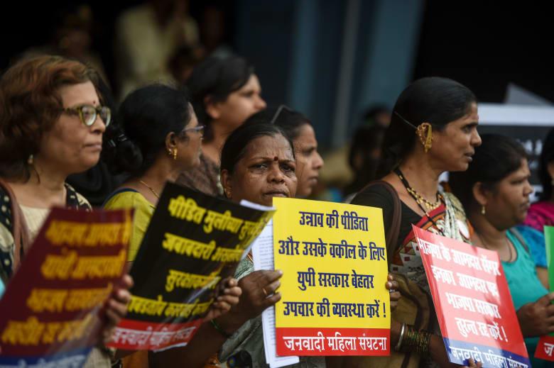 إحتجاجات ضد جرائم الإغتصاب بالهند - صورة تعبيرية