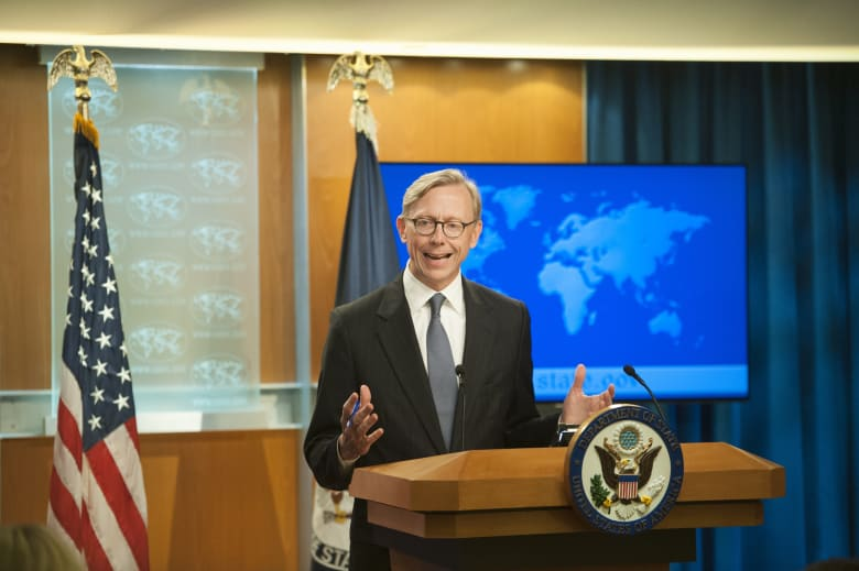 برايان هوك المبعوث الأمريكي لملف إيران ومستشار وزير الخارجية الأمريكي