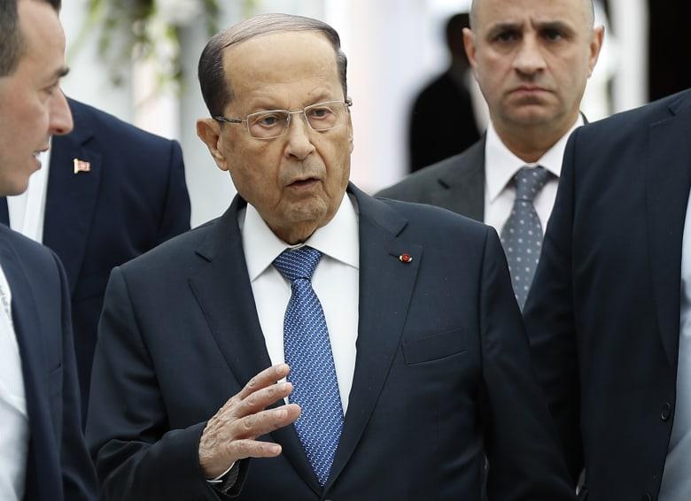ميشال عون رئيس الجمهورية في لبنان
