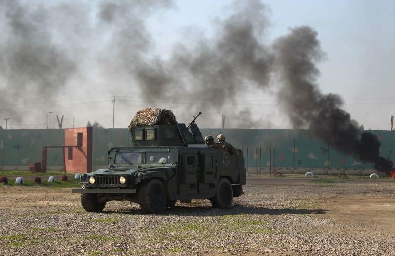 قاعدة عسكرية عراقية بالقرب من مطار بغداد