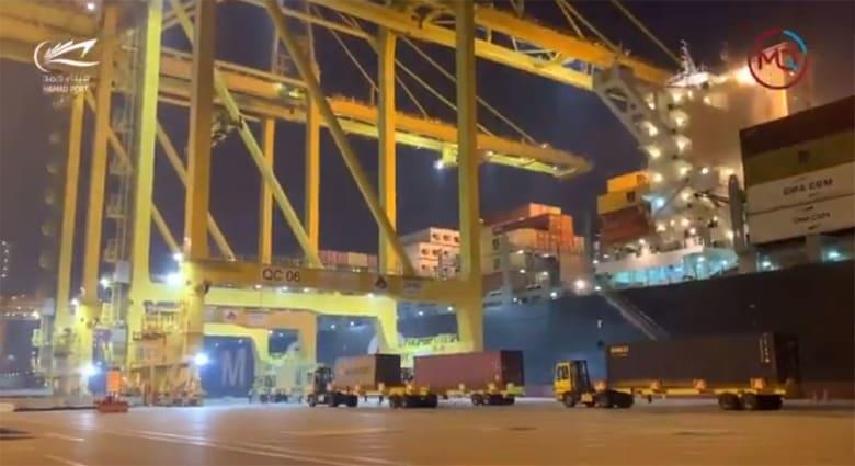 ميناء حمد الدولي في قطر