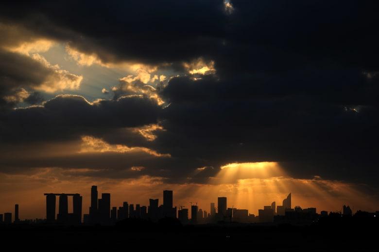 مدينة أبوظبي في الإمارات العربية المتحدة