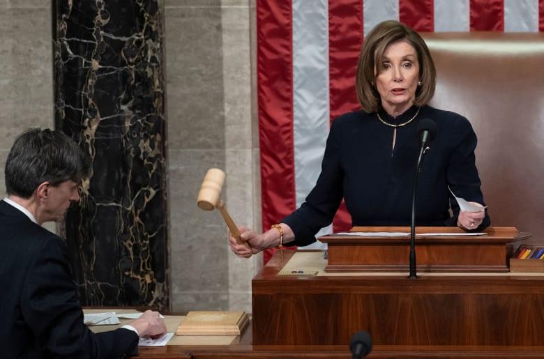 نانسي بولوسي رئيسة مجلس النواب الأمريكي