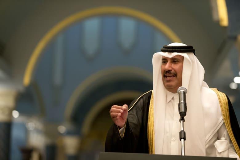 الشيخ حمد بن جاسم رئيس وزراء قطر الاسبق
