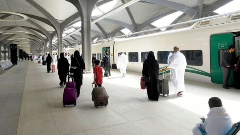 قطار الحرمين السريع بالسعودية