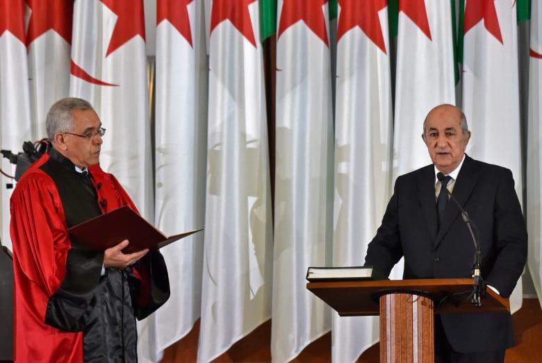 عبد المجيد تبون يؤدي اليمين الدستورية رئيسًا جديدًا للجزائر