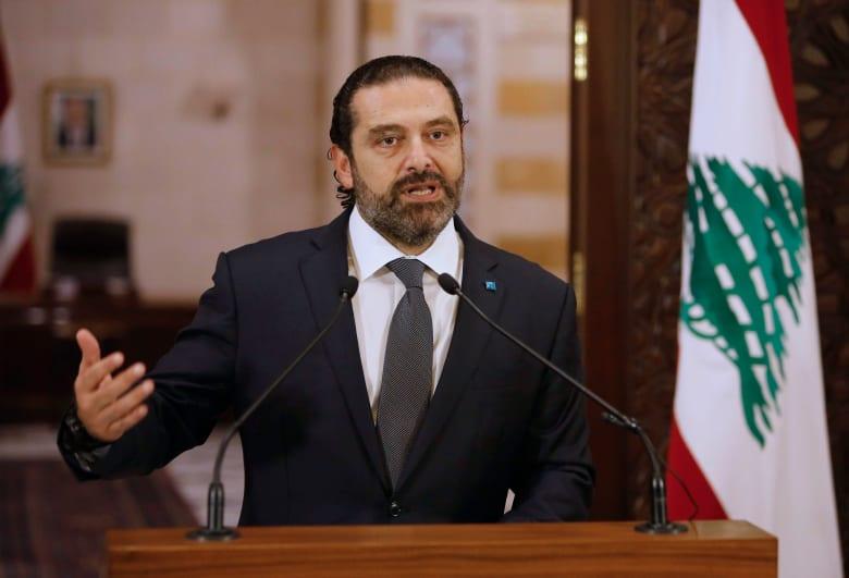 سعد الحريري للمتظاهرين: عبروا عن مواقفكم بسلمية دون رمي حجارة