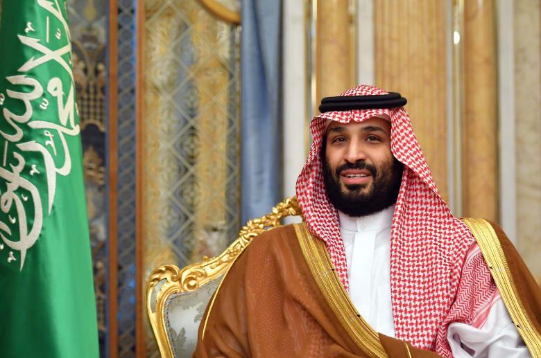 صورة أرشيفية لوي العهد السعودي خلال استقباله بومبيو في جدة في سبتمبر 2019