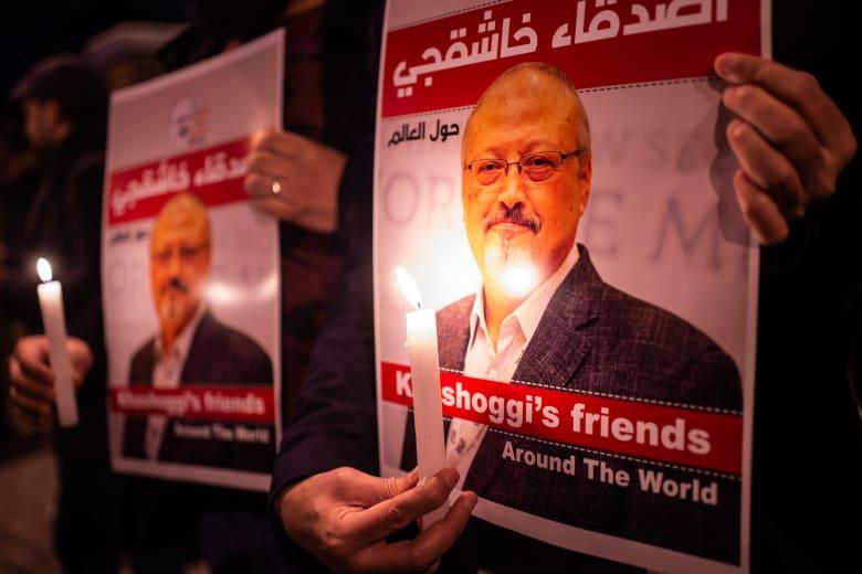وقفة أمام القنصلية السعودية في إسطنبول للمطالبة بمحاكمة قتلة الصحفي جمال خاشقجي