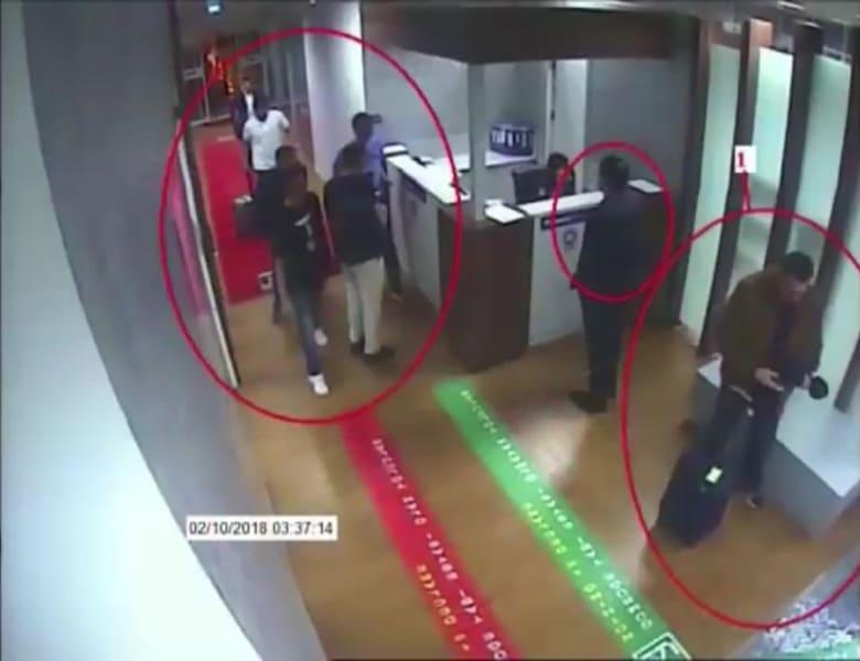 صورة تداولتها وسائل إعلام تركية للمشتبه بقتلهم خاشقجي
