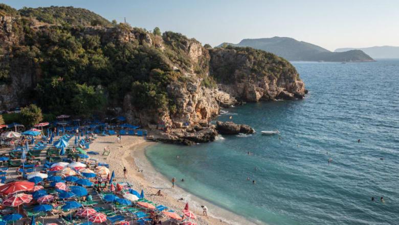 ساحل الفيروز في تركيا