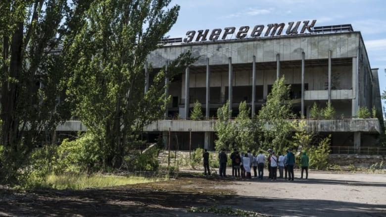 تشيرنوبل في أوكرانيا
