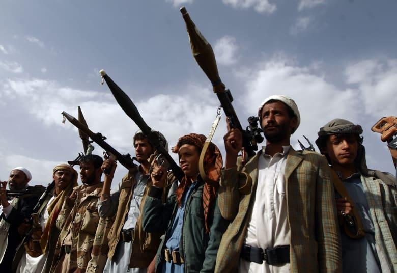 صورة أرشيفية لعناصر موالية لجماعة الحوثي
