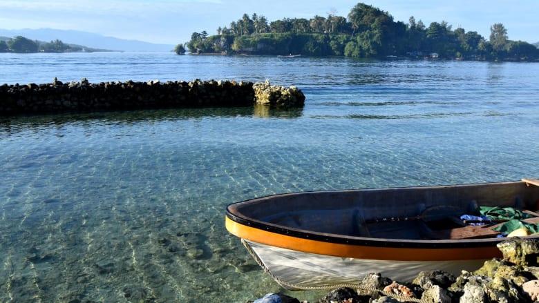 منطقة بوغانفيل  في بابوا غينيا الجديدة