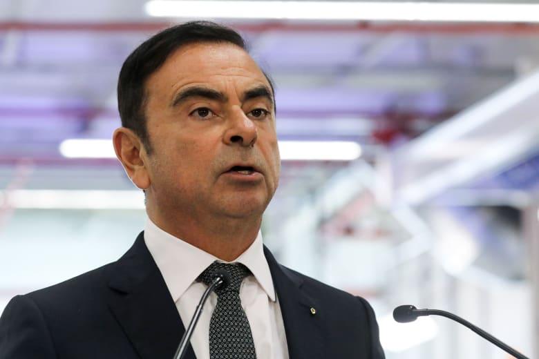 كارلوس غصن المدير التنفيذي السابق لشركة نيسان لصناعة السيارات