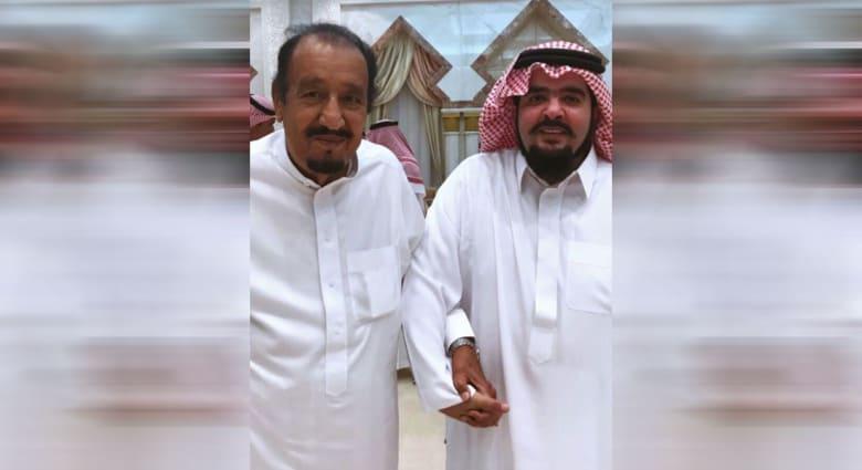 صورة ارشيفية للأمير عبدالعزيز بن فهد والعاهل السعودي الملك سلمان بن عبدالعزيز
