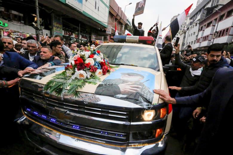 جنازة سليماني