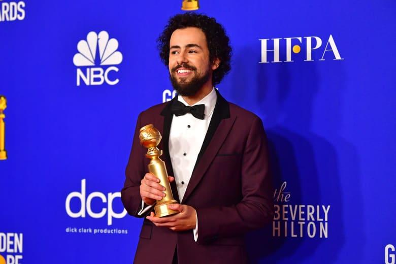 الممثل الأمريكي مصري الأصل رامي يوسف يفوز بجائزة غولدن غلوب
