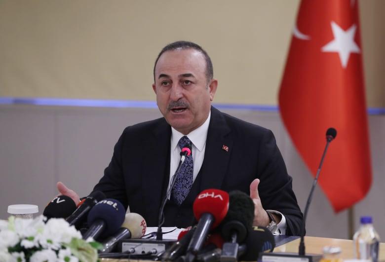 وزير الخارجية التركي مولود تشاويش أوغلو