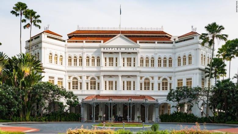 فندق رافلز سنغافورة