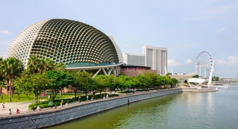 مسرح إيسبلانيد في سنغافورة