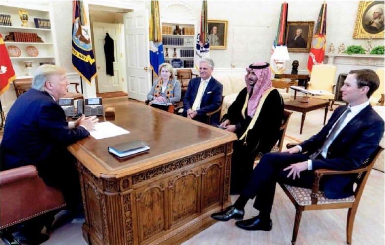 انتقادات لعدم إعلان البيت البيض لقاء ترامب بنائب وزير الدفاع السعودي