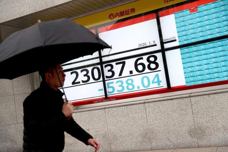 """""""عملية سليماني"""".. هبوط أسواق الأسهم وارتفاع أسعار النفط والذهب و""""بيتكوين"""""""