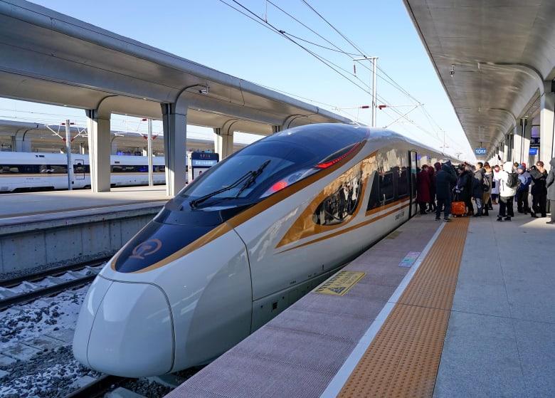 في الصين.. إطلاق أول قطار رصاصة ذكي العالم