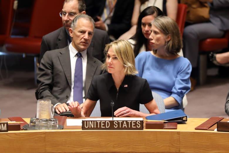 كيلي كرافت سفيرة الولايات المتحدة الأمريكية في الأمم المتحدة
