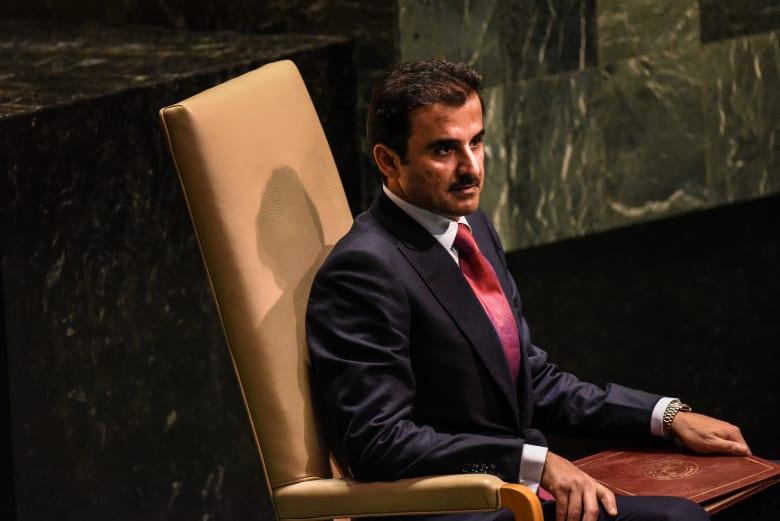 """أمير قطر: نثمن دور إيران خلال """"الحصار"""" والقنوات مع الأشقاء في طهران مفتوحة"""