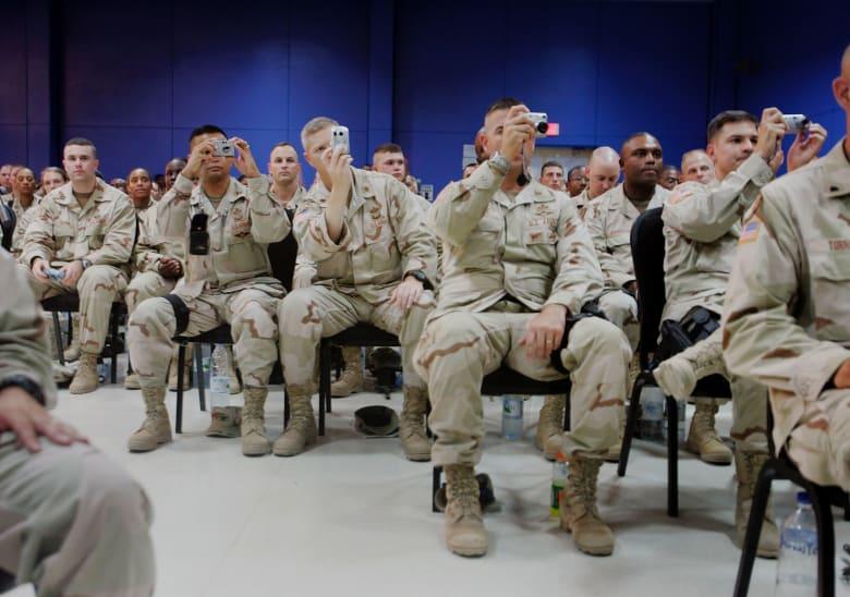الجيش الأمريكي يكشف لـCNN حقيقة وجود أفراده في قاعدة بلد أثناء استهدافها