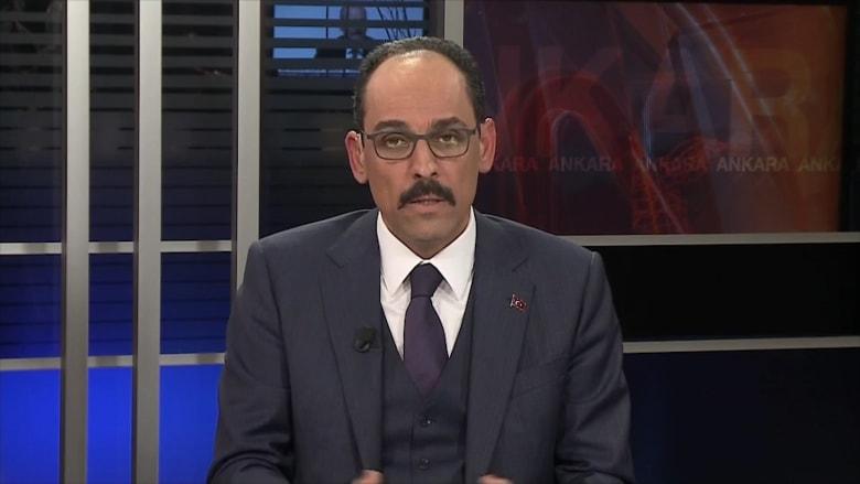 إبراهيم قالن المتحدث باسم الرئاسة التركية ومستشار أردوغان