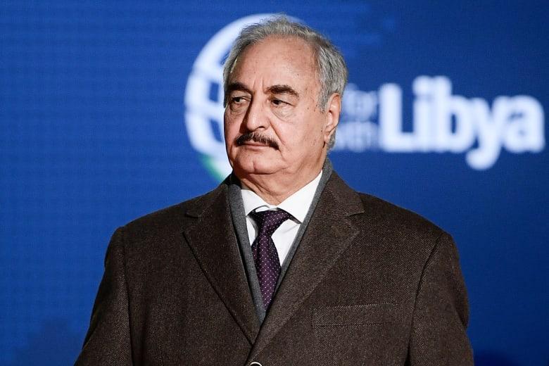خليفة حفتر قائد قوات شرق ليبيا