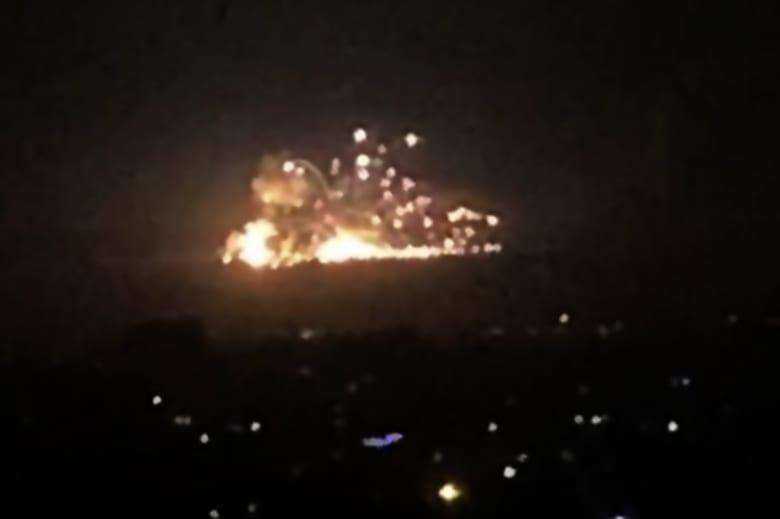 سانا: طائرات إسرائيلية هاجمت قاعدة جوية سورية.. ودفاعاتنا الجوية تصدت لصواريخ